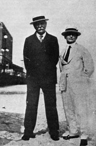 Conan Doyle with Harry Houdini, a photograph reproduced in Charles Higham's The Adventures of Conan Doyle (1976).