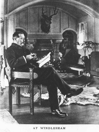 Arthur Conan Doyle at home at Windlesham (City of Westminster Libraries).