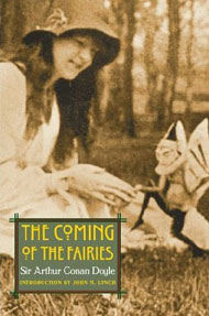 Cover of Conan Doyle's The Coming of the Fairies about the events at Cottingley.