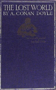 First edition of The Lost World.