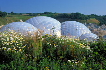 The Eden Project, St Austell (Britain on View).