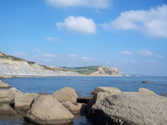 The Jurassic coast, Dorset.