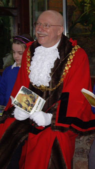 The Lord Mayor of Bristol, Councillor Christopher Davies.