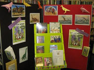 Display in a South Gloucestershire library.