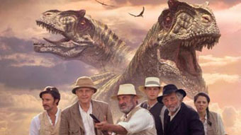 Publicity image for BBC TV's 2001 version of The Lost World.